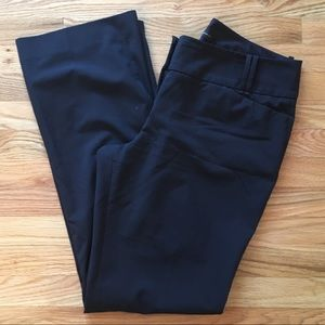 "The Limited ""Cassidy fit"" navy dress pants size 14"